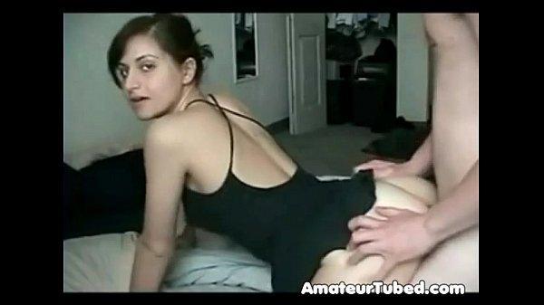 Amateur couple doggystyle