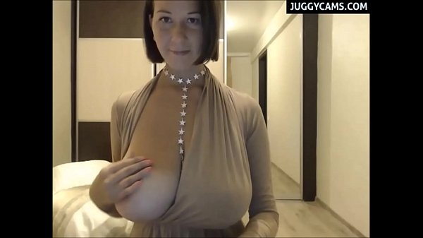 Big tits webcam broadcast from home