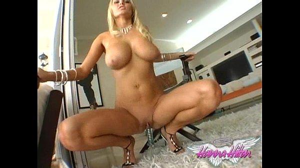 Hanna Hilton Blue Bikini