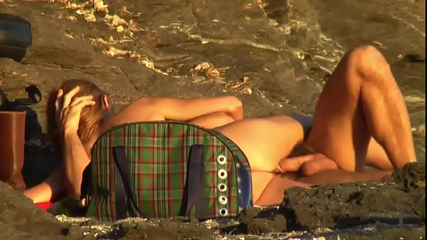 mature couple fuck beach