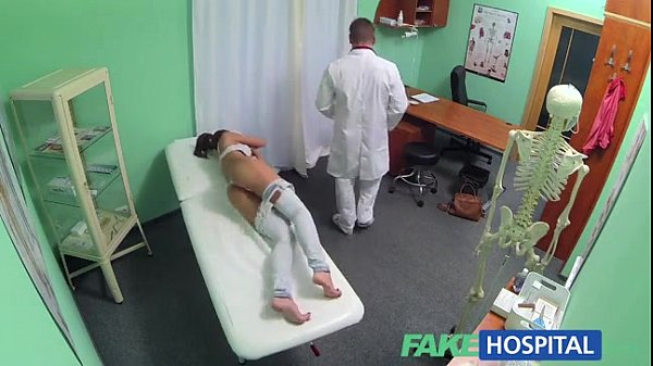 Pretty chick gets fucked by a doctor