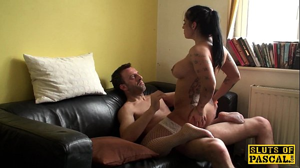 Tattooed british submissive assfucked deeply