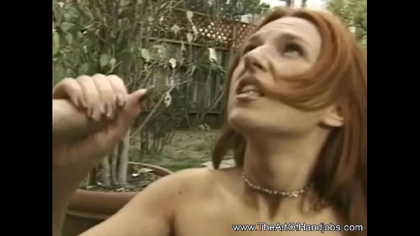 A Handjob to be Done in the Backyard