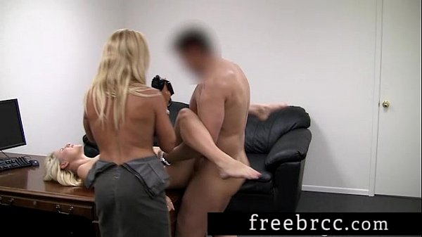Ania and Gina Audition for Backroom Casting Couch