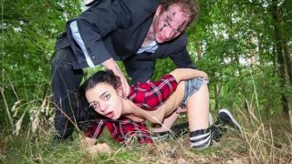 BADTIME STORIES – Torture Halloween story in the forest with German teen Khadisha Latina