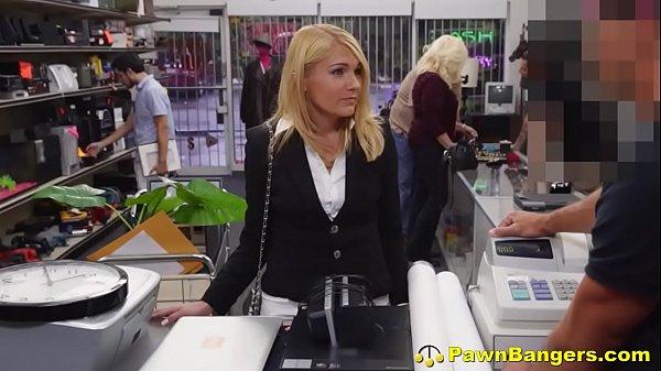 Desperate Hot Milf Opens Her Cunt For Cash Reward