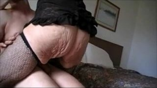 GRANNY MARG 90 HAMMER FUCKED IN HOTEL – Grannies porn tube video at YourLust.com!