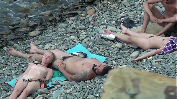 Hot european amateur nudists in this voyeur compilation