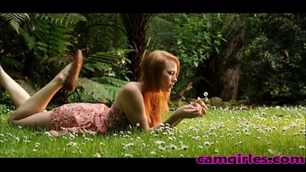 Redheaded Teen Seductive Solo Bate Porn