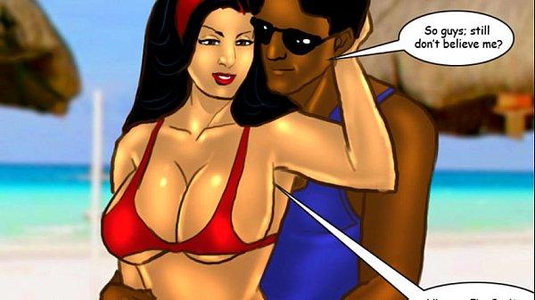 Savita Bhabhi Episode 33 – Sexy Summer Beach