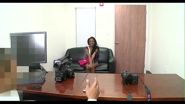 Tricky boy tempts a chick at an interview fucks her hard