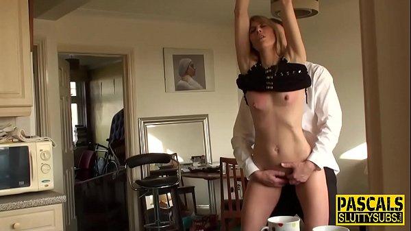 Bound dutch submissive