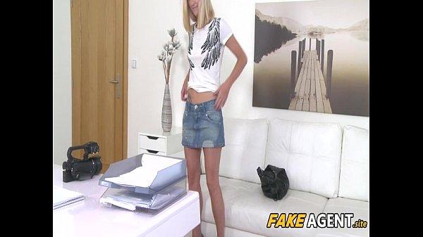 Skinny Model Fucked On Office Desk – Nela Angel