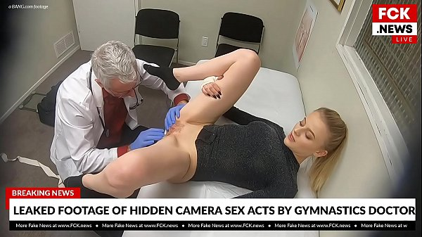 FCK News – Leaked Footage Of Doctor Fucking His Blonde Patient